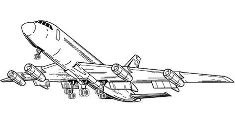 Dididou Coloriage Avions Long Courrier