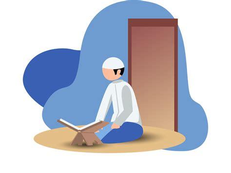 read al quran kartun ilustrasi animasi