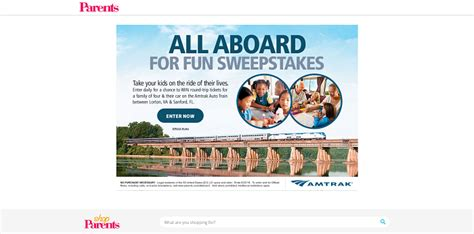 Parents Com Sweepstakes - parents com all abroad for fun sweepstakes