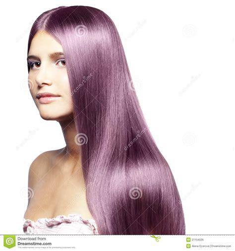 beautiful colored hair beautiful colored hair stock photo image of model posing