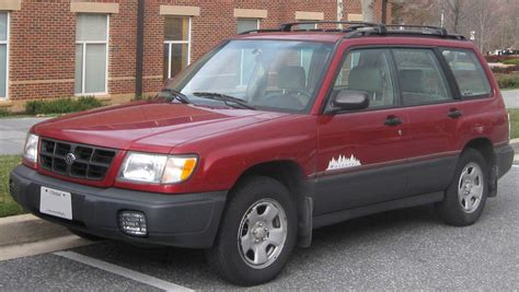 red subaru forester 2000 subaru forester information and photos momentcar