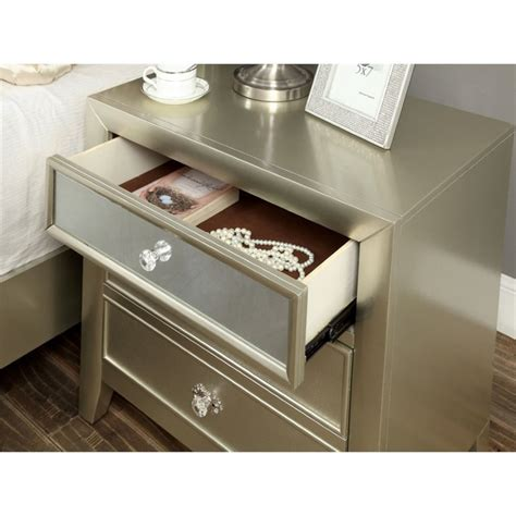 silver 197 n mirror with shelf white 36x64 cm ikea furniture of america maire 3 drawer nightstand in silver