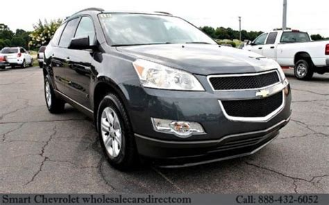 find used used chevrolet travese 3rd row all wheel drive