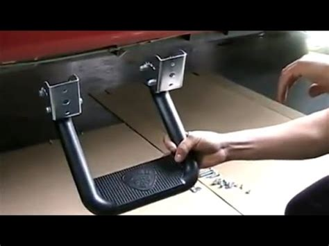 Footstep Running Board Side Footstep Toyota Harrier carr hoop ii steps installation
