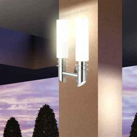 Moderne Wandbeleuchtung by Modern Wand Beleuchtung Licht Gartenmauer Le Terrasse