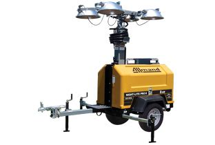 Allmand Light Tower by Portable Light Towers Worksite Heaters Allmand