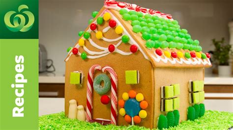 easy gingerbread house easy gingerbread house christmas recipes countdown christmas 2016