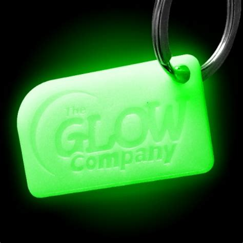 glow in the l glow in the keyring
