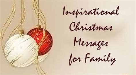inspirational christmas messages  family merry christmas wishes