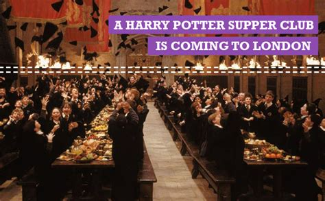 the saturday supper club books a harry potter supper club is coming to food