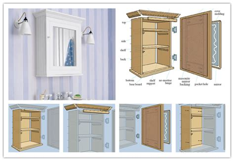 how to make a medicine cabinet how to build a wall mount medicine storage cabinet unit