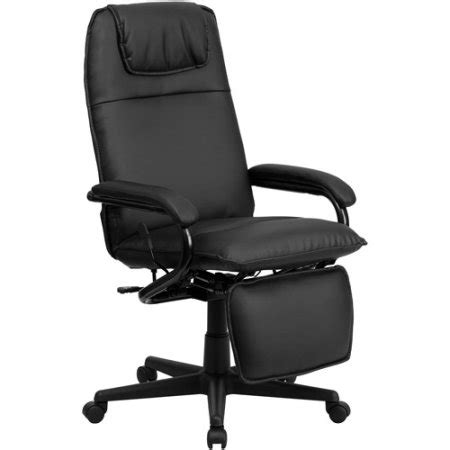 high back reclining chair flash furniture high back leather executive reclining