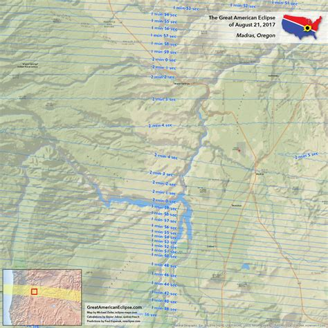 map of oregon path of totality oregon total solar eclipse of aug 21 2017 the great