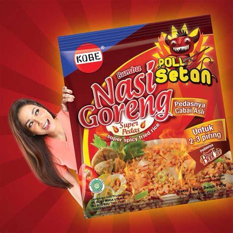 Bumbu Instan Indofood 45gr bumbu nasi goreng pedas