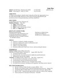 Psychology Resume Exles by Psychology Major Resume Sle Sainde Org