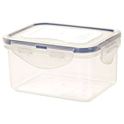 lock and lock plastic food storage container