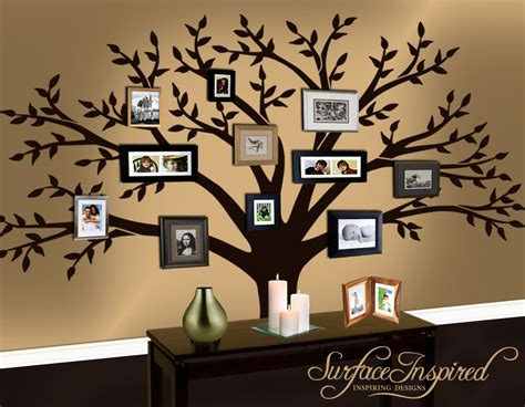 family tree wall stickers wall decal family tree decal by surfaceinspired on etsy