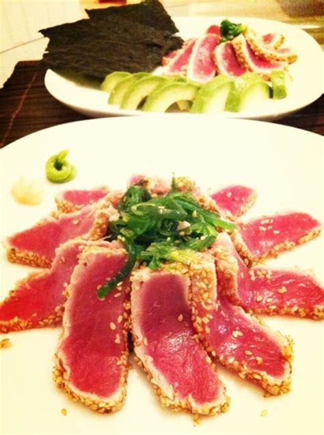 Peanut Butter Cokkies Ketofy seared tuna for roll sushi addicted to sushi
