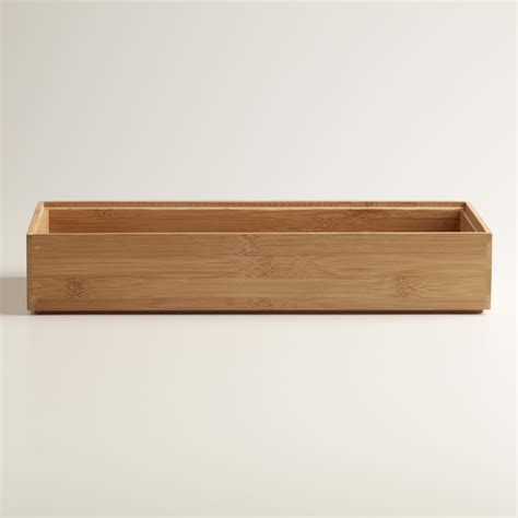 large bamboo drawer organizer world market