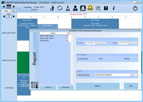 classoft crm scheduling manager lite edition