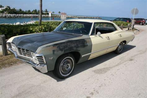 4 door 1967 impala 1967 chevy impala 4 door no post