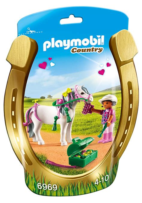 sale playmobil on sale playmobil groomer with pony playset