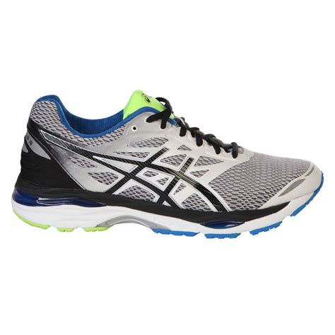 national sports running shoes asics s gel cumulus 18 running shoe white black blue