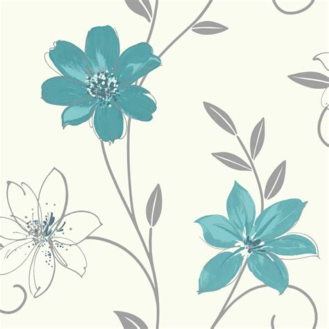 teal and black wallpaper uk teal wallpaper floral www pixshark com images