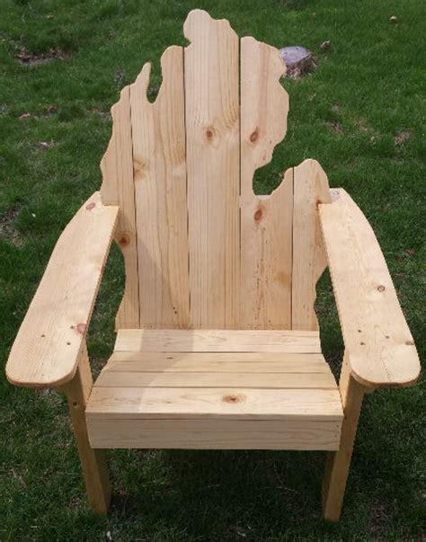 Handmade Michigan - michigan adirondack chair handmade michigan