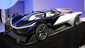 Future Cars Faraday Future Unveils Concept Supercar At Ces 2016 Jan