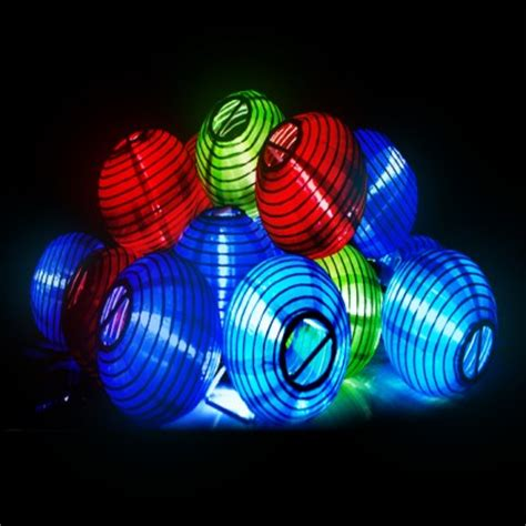 Everbright Solar Chinese Lantern String Lights Everbright Solar Lights