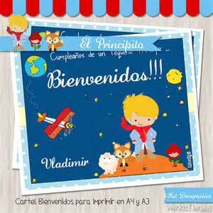 Decor Star El Principito Kit Decoracion Fiesta Imprimible
