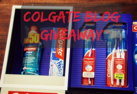 Food Blog Giveaways - blog giveaway colgate slimsoft dual action the food scout