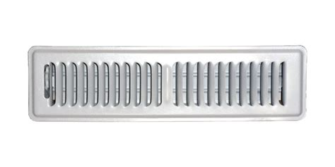 speedi grille 2 in x 12 in white floor register vent
