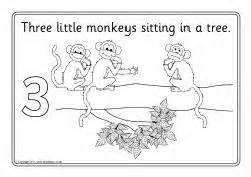 five little monkeys coloring page free five little monkeys colouring sheets sb4318 sparklebox