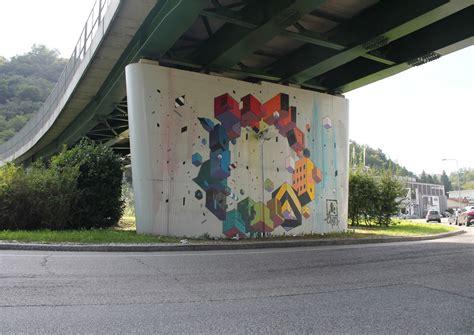 New Etnik by Etnik Creates A New Mural In Varese Italy Streetartnews