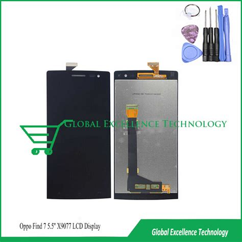 Lcd Oppo Find 7 100 new original lcd for oppo find 7 find7 x9076 1440 x 2560 display touch screen digitizer