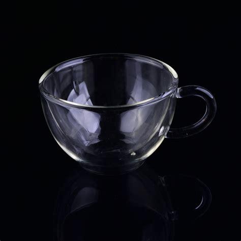 borosilicate glass 150ml borosilicate glass walled coffee cup
