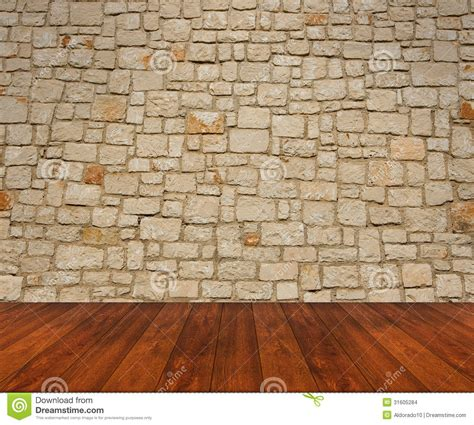 wooden floor with wall stock images image 31605284