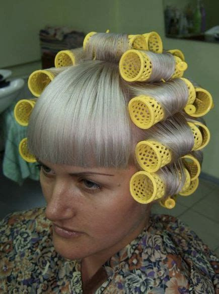 perms with large rollers top 25 ideas about hair curlers and hair rollers and perm