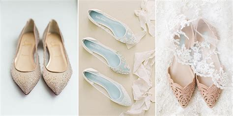 Flat Wedding Shoes For by 20 Adorable Flat Wedding Shoes For 2018 Emmalovesweddings