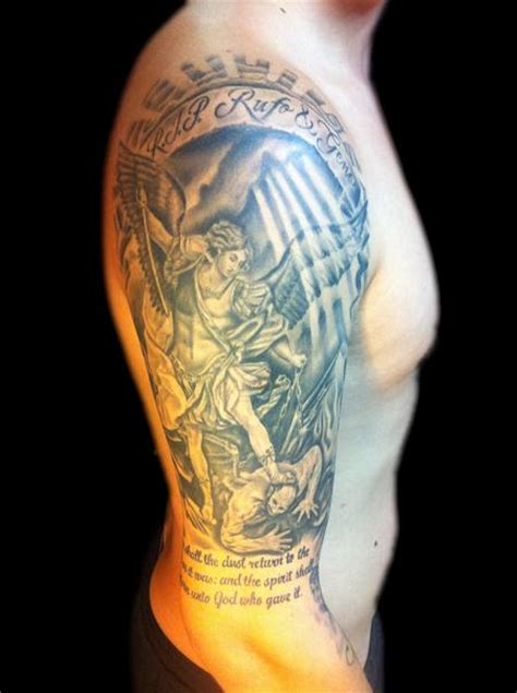 guardian angel tattoo half sleeve ladies gaurdian angel picture tattoos best tattoo design