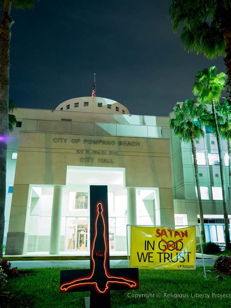 city hall pompano beach florida hemant mehta s blog right now there s an upside down