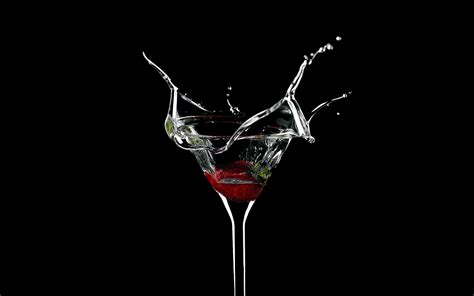 drink splash black background drinks martini splashes wallpaper