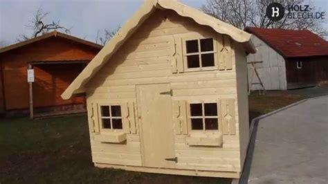 kinderspielhaus tom vorstellung holz blechde youtube