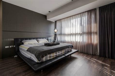 dunkle gardinen schlafzimmergestaltung im einklang mit den modernsten trends