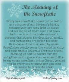 Legend Of The Snowflake Poem » Home Design 2017