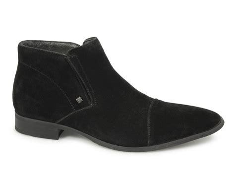shuperb centro mens suede casual boots black shuperb