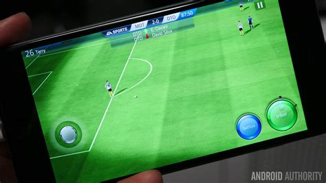 ea for android e3 2015 demo ea sports fifa takes the console experience to your phone