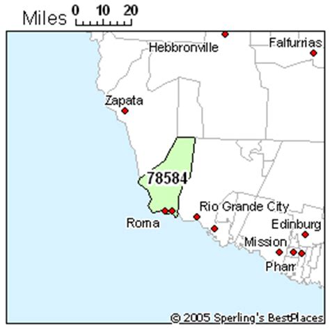 roma texas map best place to live in roma zip 78584 texas